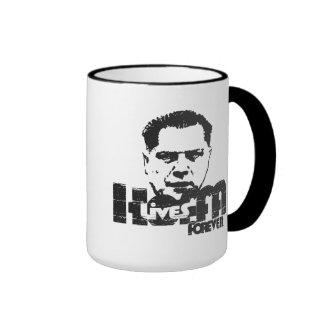 Hoffa Lives Forever Ringer Mug