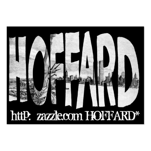 Hoffard Business-Card Large Business Cards (Pack Of 100)