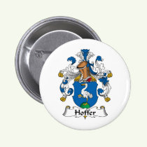 Hoffer Family Crest Button