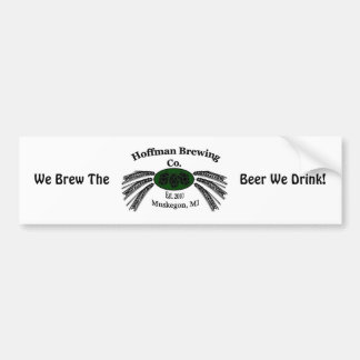 Hoffman Brewing Company Bumper Sticker
