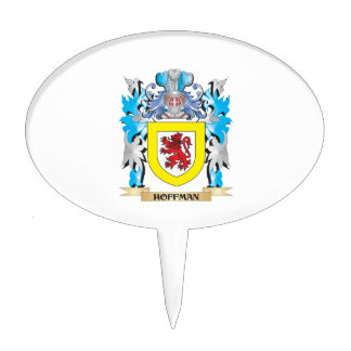 Hoffman Coat of Arms - Family Crest Cake Pick