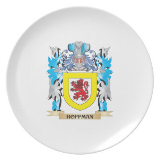Hoffman Coat of Arms - Family Crest Plates