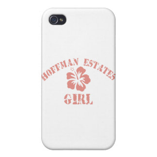 Hoffman Estates Pink Girl Cases For iPhone 4
