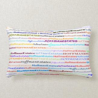 Hoffman Estates Text Design II Lumbar Pillow