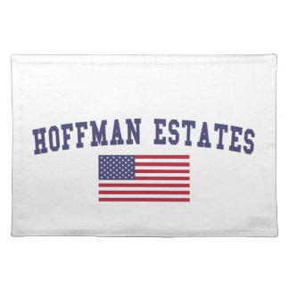 Hoffman Estates US Flag Cloth Placemat