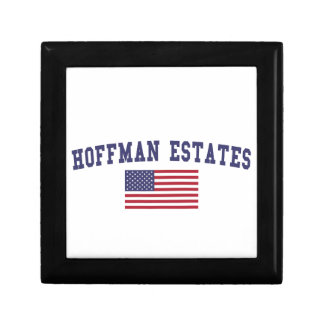 Hoffman Estates US Flag Gift Box