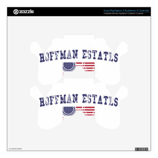 Hoffman Estates US Flag PS3 Controller Skin