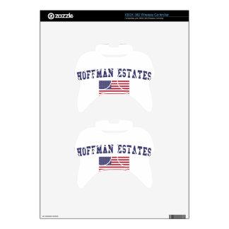 Hoffman Estates US Flag Xbox 360 Controller Skins