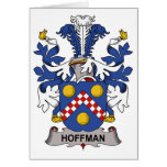 Hoffman Family Crest Cards