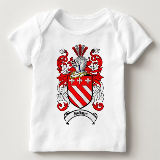 HOFFMAN FAMILY CREST -  HOFFMAN COAT OF ARMS BABY T-Shirt