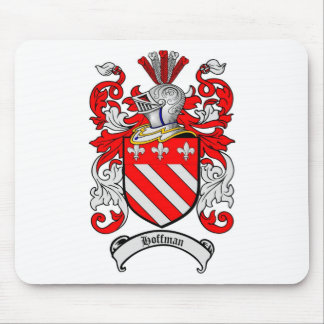 HOFFMAN FAMILY CREST -  HOFFMAN COAT OF ARMS MOUSE PAD