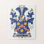 Hoffman Family Crest Jigsaw Puzzles