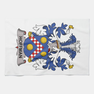 Hoffman Family Crest Hand Towels