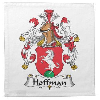 Hoffman Family Crest Printed Napkin
