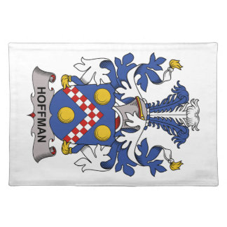 Hoffman Family Crest Placemats