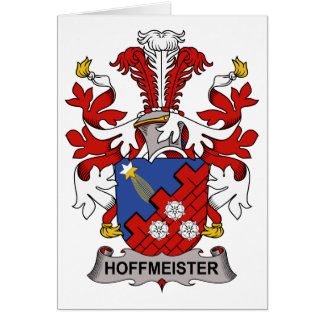 Hoffmeister Family Crest Card
