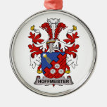 Hoffmeister Family Crest Christmas Ornament