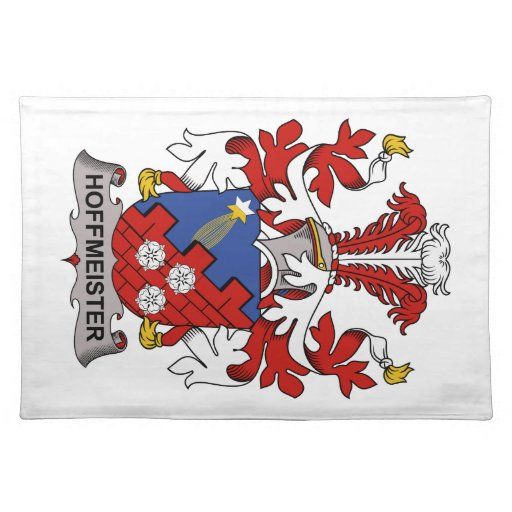 Hoffmeister Family Crest Place Mat