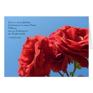 Hoffnung Card
