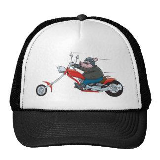 Hog Biker Trucker Hat