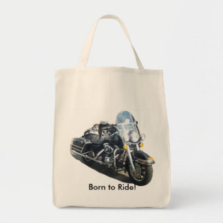 Hog Dog - Born to Ride! Tote Bag