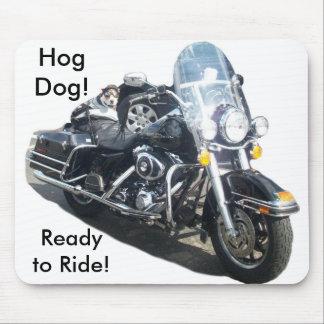 Hog Dog - Ready to Ride Mousepads