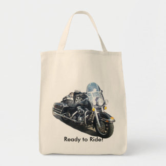 Hog Dog - Ready to Ride! Tote Bag