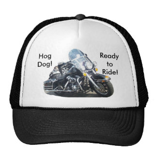 Hog Dog - Ready to Ride! Trucker Hat