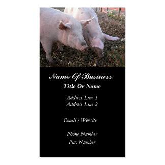 Hog Farmer Business Card