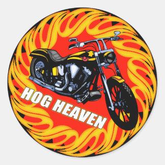 Hog Heaven Sticker