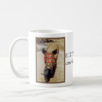 hog, hog, U.T. SouthwesternPorcine Control Spec... Classic White Coffee Mug