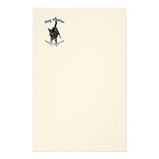 Hog Hunter Catahoula Dog Stationery