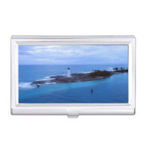 Hog Island Light Business Card Case