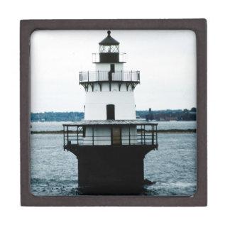 Hog Island Shoal Lighthouse Gift Box Premium Jewelry Box