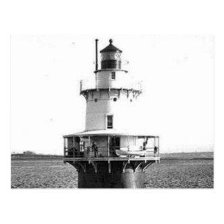 Hog Island Shoal Lighthouse Postcard