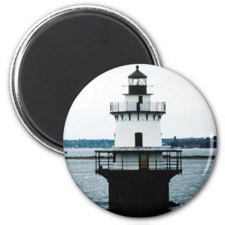 Hog Island Shoal Lighthouse Round Magnet