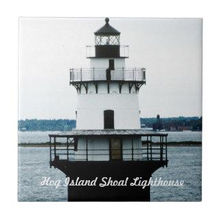 Hog Island Shoal Lighthouse Tile