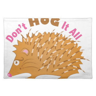 Hog It All Placemat