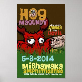 Hog Magundy Poster