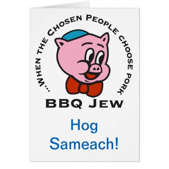 Hog Sameach Holiday Card