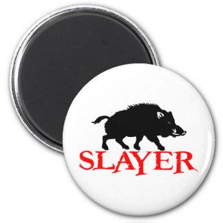 HOG SLAYER REFRIGERATOR MAGNETS
