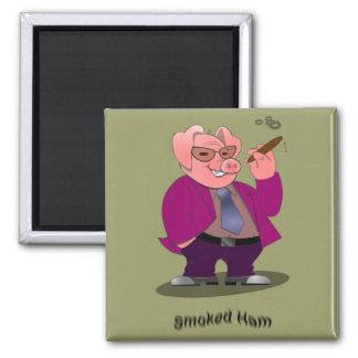 Hog Smoked Ham Magnet