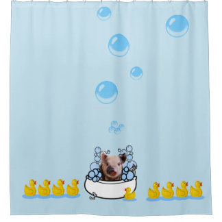Rubber Ducky Shower Curtains   Zazzle