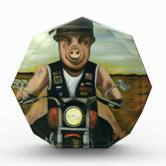 Hog Wild Acrylic Award