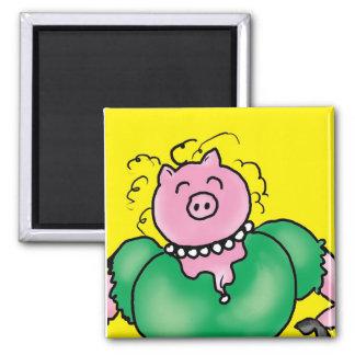 hog wild fridge magnet