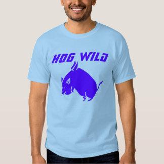 HOG WILD Men's Fashion T-shirt - Blue