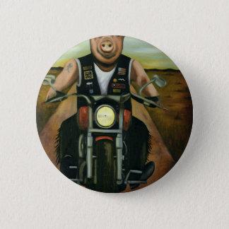 Hog Wild Pinback Button
