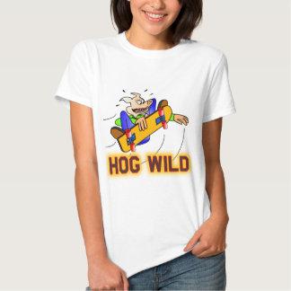 HOG WILD TEE SHIRT