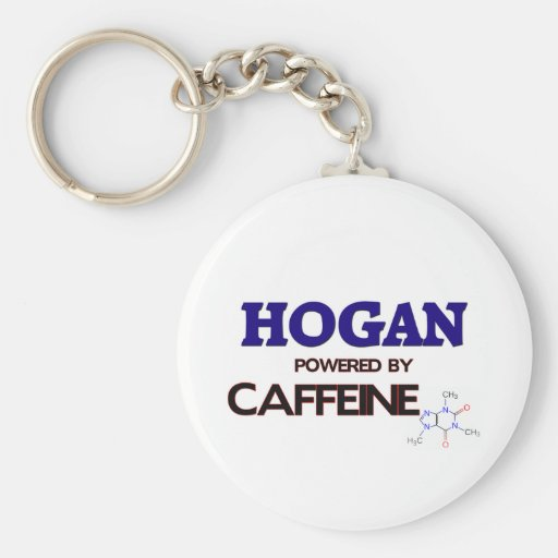 Hogan accionado por el cafeína llavero redondo tipo pin