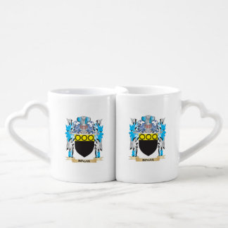 Hogan Coat of Arms - Family Crest Couples' Coffee Mug Set